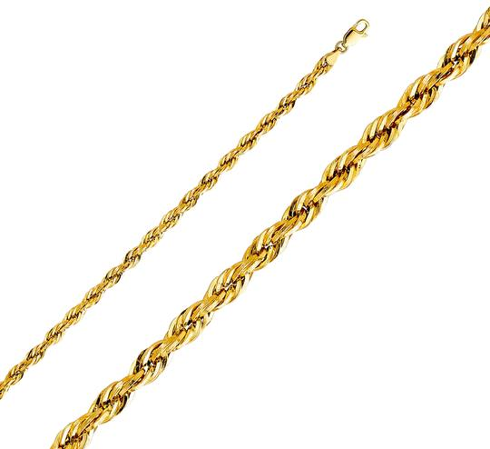 Preload https://img-static.tradesy.com/item/24288647/yellow-14k-mm-silky-rope-cut-chain-22-necklace-0-3-540-540.jpg