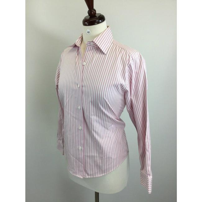 Talbots Button Down Shirt Multicolor Image 1