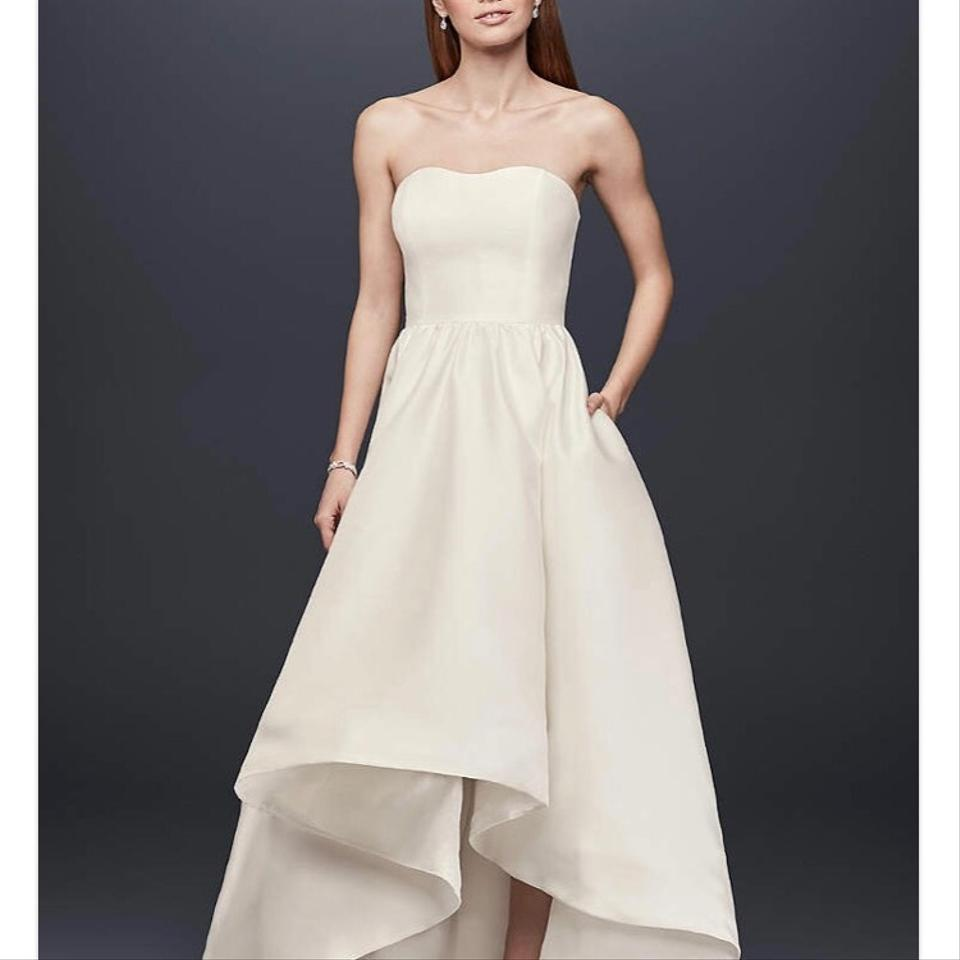 David's Bridal Gown. Never Worn Casual Wedding Dress Size