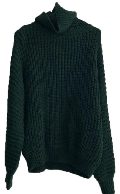 Preload https://img-static.tradesy.com/item/24288754/chunky-knit-green-sweater-0-4-650-650.jpg