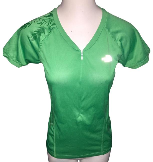 Item - Green Running Activewear Top Size 4 (S)