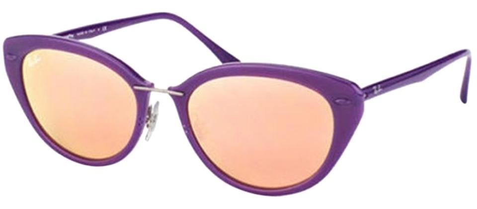 9a453a0d38406 Ray-Ban Shiny Violet Frame   Copper Mirrored Lens Rb4250 60342y Cat ...