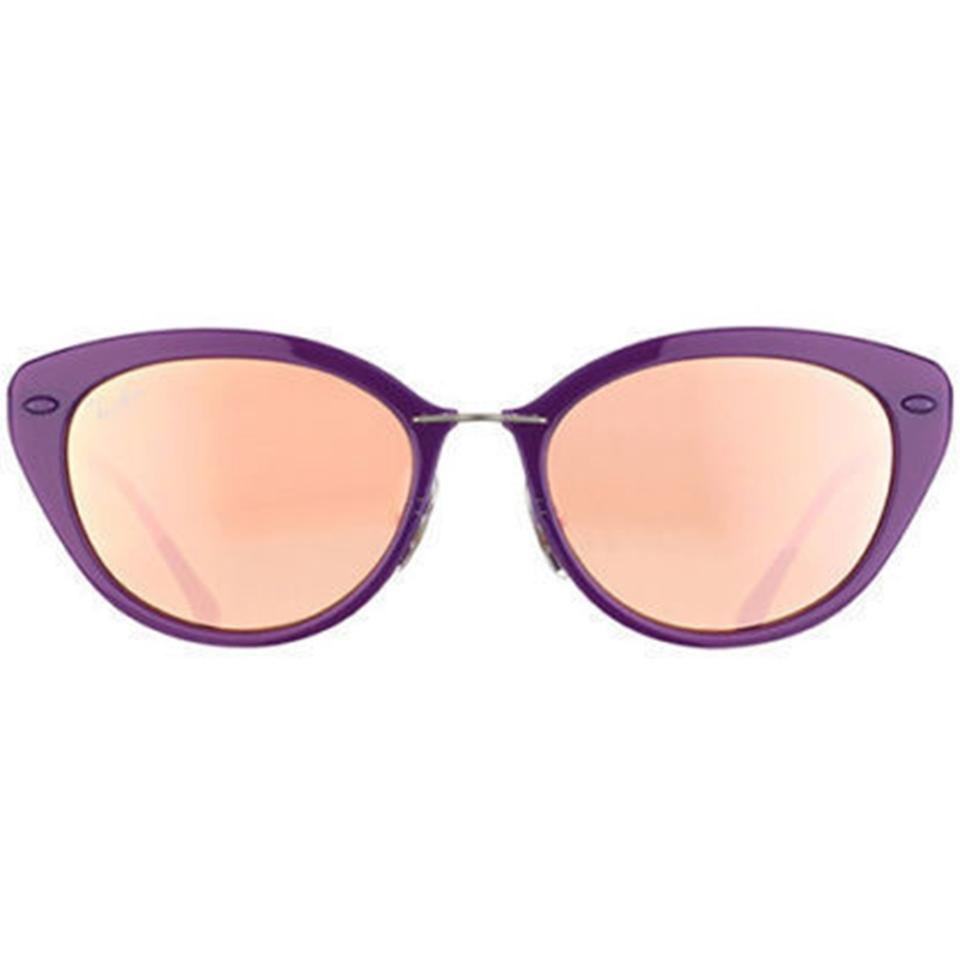 8359ec152c Ray-Ban Shiny Violet Frame   Copper Mirrored Lens Rb4250 60342y Cat ...
