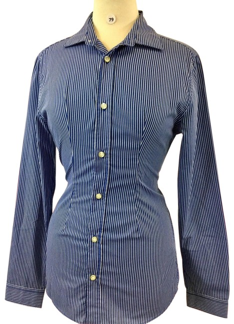 Preload https://img-static.tradesy.com/item/24288844/h-and-m-blue-stripe-long-sleeve-women-s-designer-blouse-small-b-79-button-down-top-size-12-l-0-3-650-650.jpg
