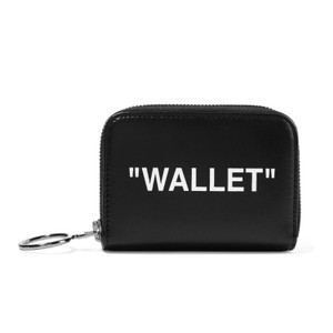 Off-White™ small printed leather zip around wallet