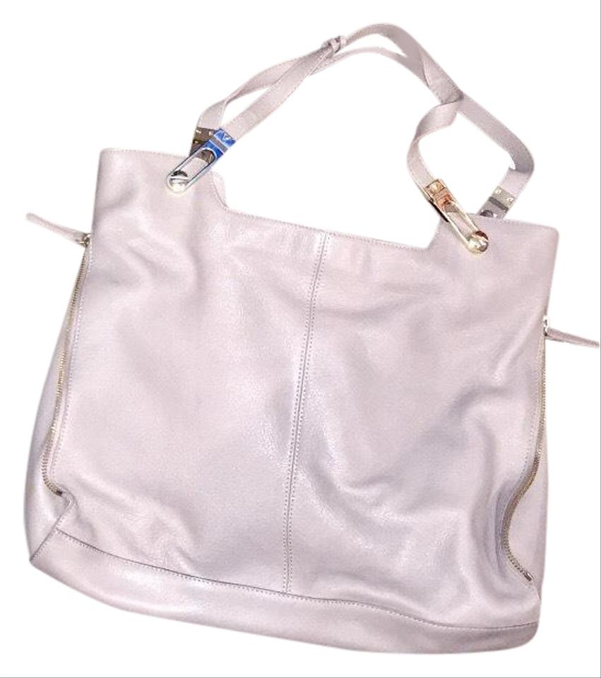 4a0712c4717 Vince Camuto Nwot Purse Gray Leather Shoulder Bag - Tradesy