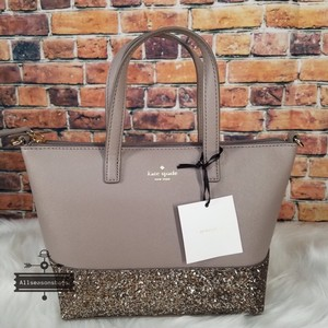 Kate Spade Satchel in cityscape