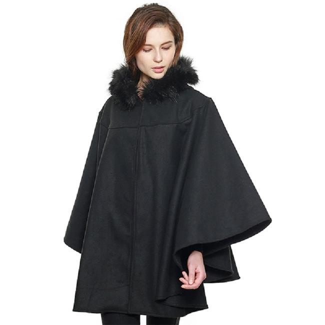 other Faux Cape Shawl Cape Fur Coat Image 1