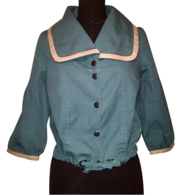 Preload https://img-static.tradesy.com/item/24288955/tulle-teal-and-cream-vintage-utility-jacket-size-4-s-0-3-650-650.jpg