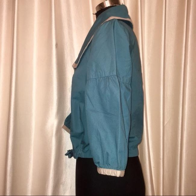 Tulle teal and cream Jacket Image 2