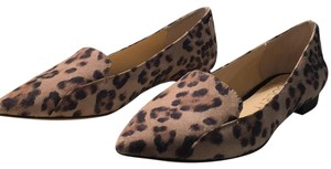 Sole Society Tan-Leopard Flats