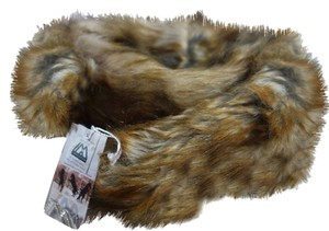imposter4animals Imposter Animal Friendly Faux Fur Scarf Pull Through Wrap & Pin