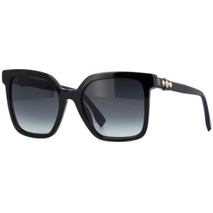 Fendi Square Women FF0269/S 8079O Acetate Grey Gradient Lens Sunglasses