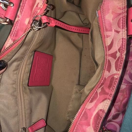 Coach Satchel in Pink Image 4