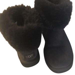 Ugg Short Fur Lined Booties Cocoa Brown Boots