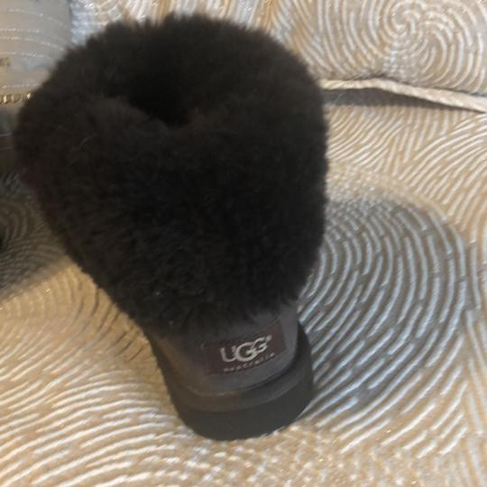 Ugg Short Fur Lined Booties Cocoa Brown Boots Image 2