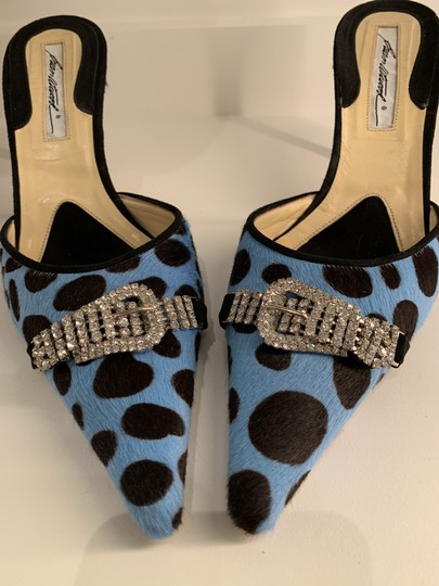 Brian Atwood Black and blue Formal Image 6