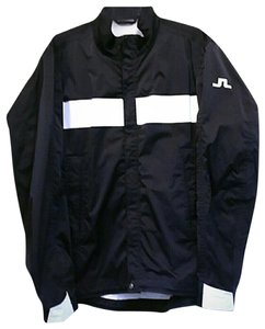 J. Lindeberg Golf Weather Proof Black Jacket