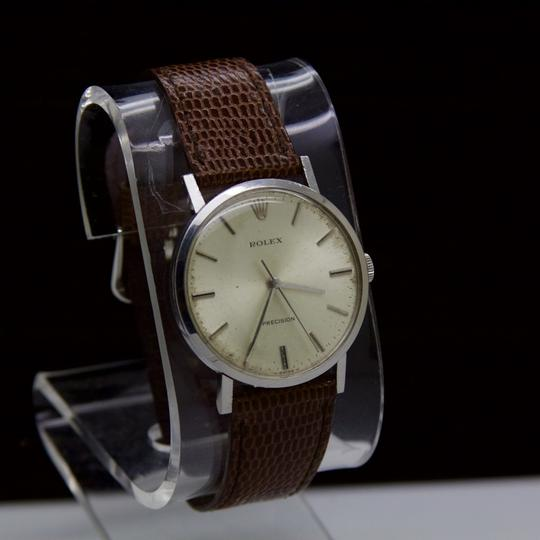 Rolex VINTAGE PRECISION STAINLESS STEEL 1975 WIND UP MOVEMENT SWISS Watch Image 1