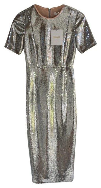 Preload https://img-static.tradesy.com/item/24289706/diane-von-furstenberg-silver-dvf-metallic-sequin-bodycon-mid-length-cocktail-dress-size-0-xs-0-3-650-650.jpg