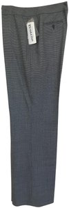 Pendleton Fully Lined Trouser Pants Black/white houndtooth