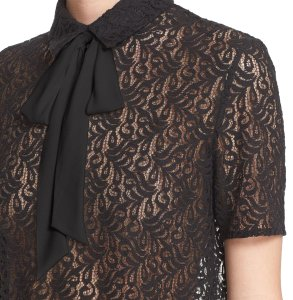 The Kooples Top black lace