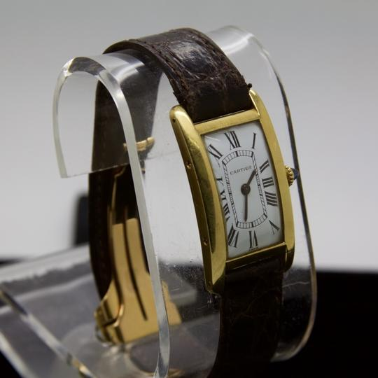 Cartier CURVEX TANK CINTREE PARIS IN 18K YELLOW GOLD Circa 1960 WATCH