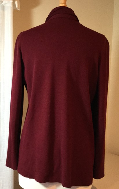 Lafayette 148 New York Red Sweater