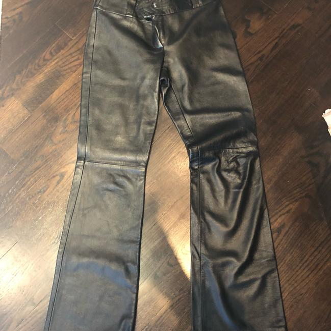 Preload https://img-static.tradesy.com/item/24290350/dolce-and-gabbana-real-leather-d-and-g-pants-size-8-m-29-30-0-2-650-650.jpg