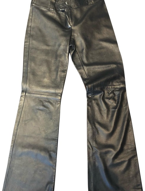 Preload https://img-static.tradesy.com/item/24290350/dolce-and-gabbana-real-leather-d-and-g-pants-size-8-m-29-30-0-3-650-650.jpg