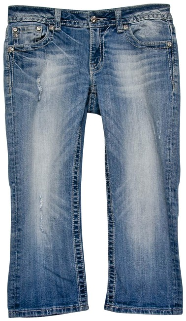 Preload https://img-static.tradesy.com/item/24290367/miss-me-blue-distressed-capricropped-jeans-size-29-6-m-0-3-650-650.jpg