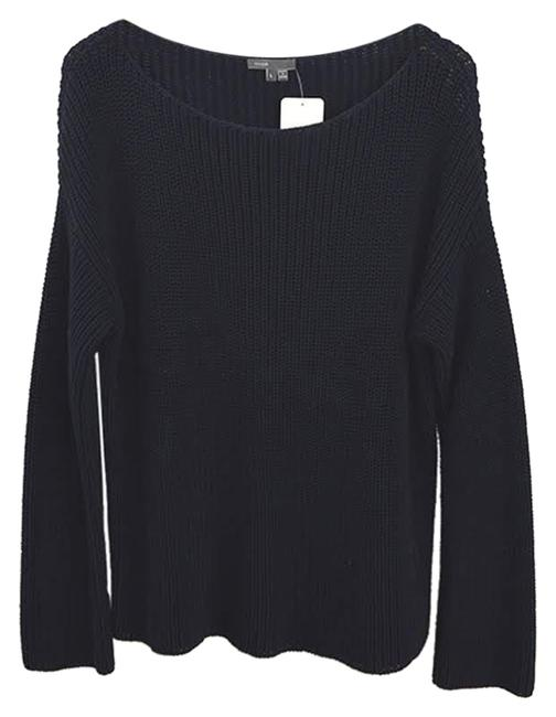 Preload https://img-static.tradesy.com/item/24290377/vince-cable-knit-131-112-navy-sweater-0-3-650-650.jpg