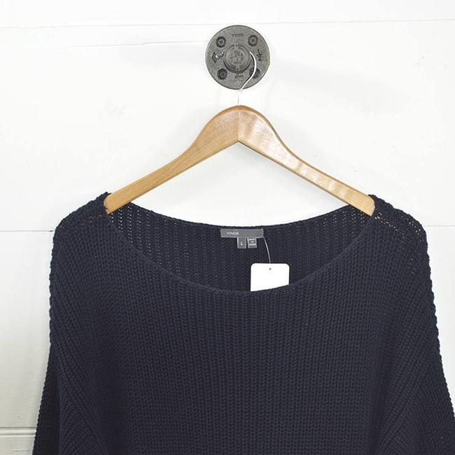 Vince Cotton Causal Date Night Fall Winter Sweater