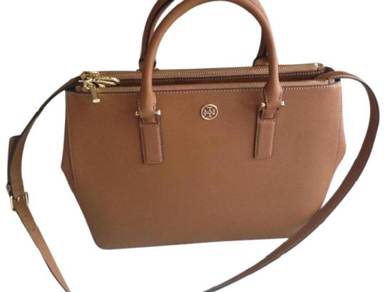 Preload https://img-static.tradesy.com/item/24290378/tory-burch-robinson-large-double-zip-brown-leather-tote-0-3-540-540.jpg