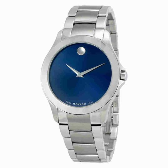Preload https://img-static.tradesy.com/item/24290385/movado-masino-blue-dial-stainless-steel-men-s-0607033-watch-0-0-540-540.jpg
