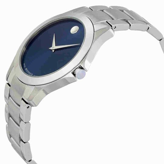 Movado Movado Masino Blue Dial Stainless Steel Men's Watch 0607033