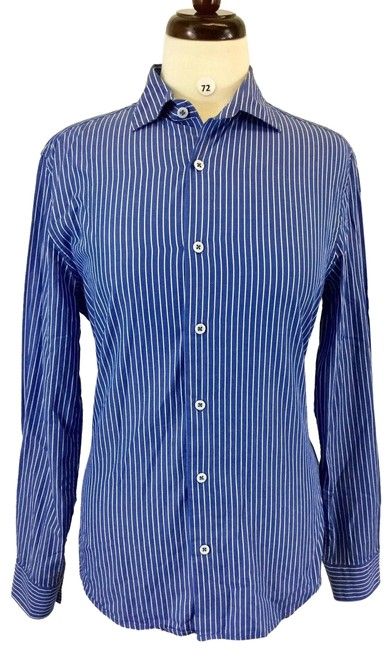 Preload https://img-static.tradesy.com/item/24290389/h-and-m-multicolor-stripe-long-sleeve-women-s-designer-blouse-small-b-72-button-down-top-size-4-s-0-3-650-650.jpg
