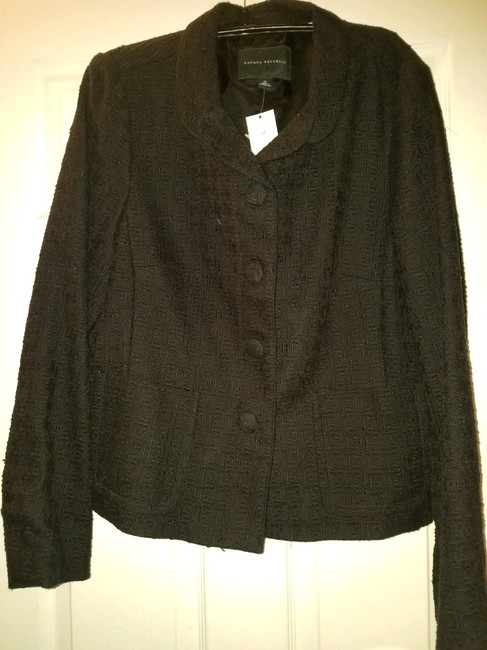 Preload https://img-static.tradesy.com/item/24290424/banana-republic-black-short-womens-blazer-size-14-l-0-2-650-650.jpg