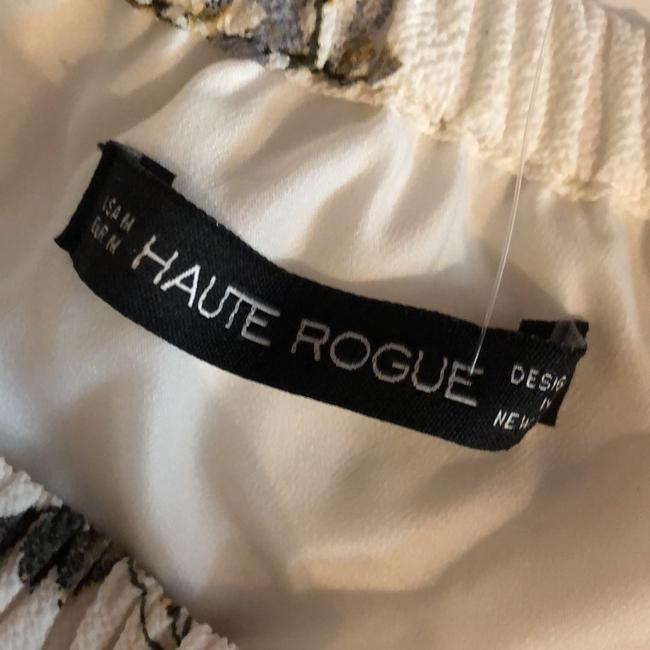 Haute rogue Top White, maroon and Blue