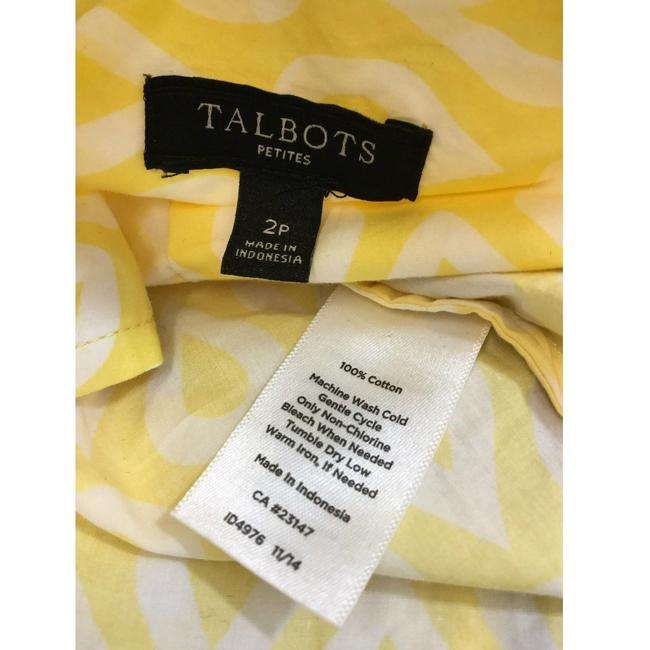 Talbots Button Down Shirt Multicolor