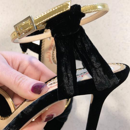 Charlotte Olympia Black Gold Pumps
