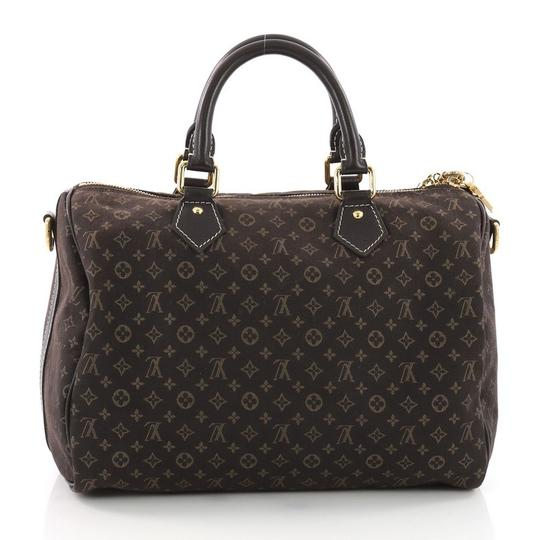 Louis Vuitton Speedy Idylle Satchel in brown