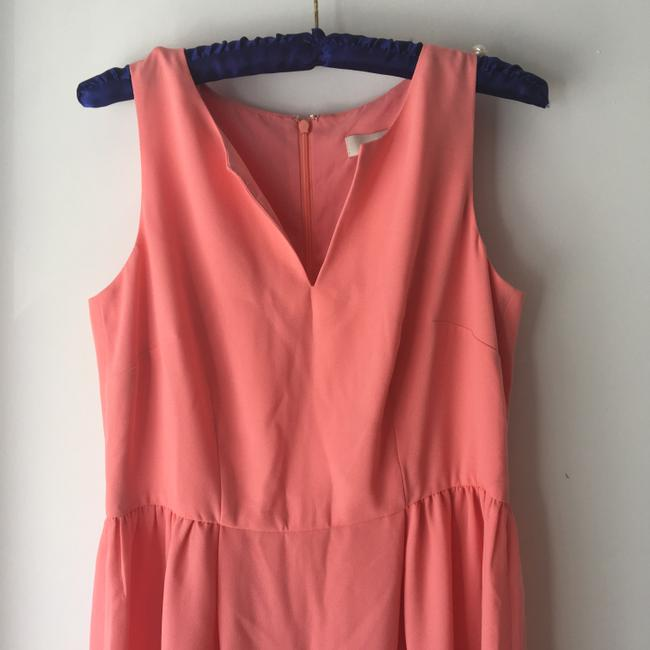 Ann Taylor LOFT Sleeveless Notch Neck Fitandflare Dress