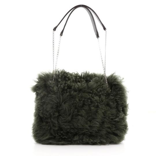 Céline Shearling Shoulder Bag