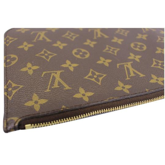 Louis Vuitton LOUIS VUITTON Pochette Wristlet Pouch Monogram Canvas Neverfull