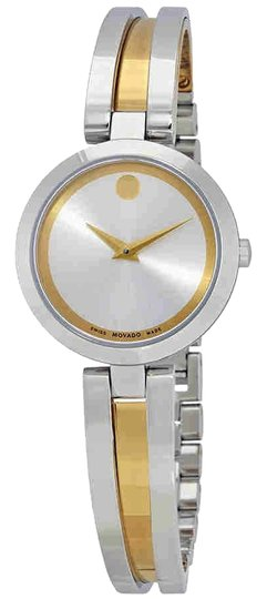 Preload https://img-static.tradesy.com/item/24290534/movado-aleena-silver-dial-ladies-0607150-watch-0-3-540-540.jpg