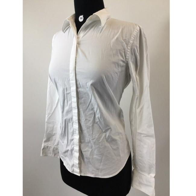 Ralph Lauren Collection Button Down Shirt White