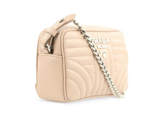 Prada Valentino Pumps Slingback Silver Rockstud Cross Body Bag