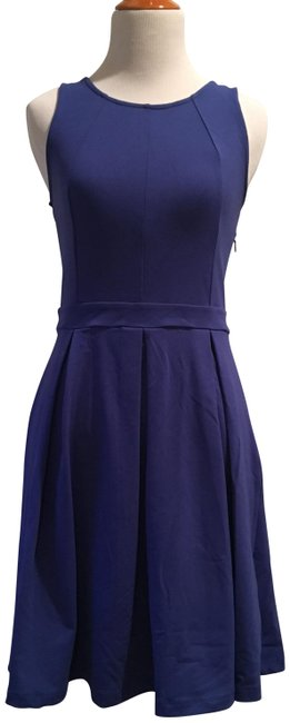 Preload https://img-static.tradesy.com/item/24290594/cynthia-rowley-cobalt-blue-fit-and-flare-short-casual-dress-size-2-xs-0-3-650-650.jpg
