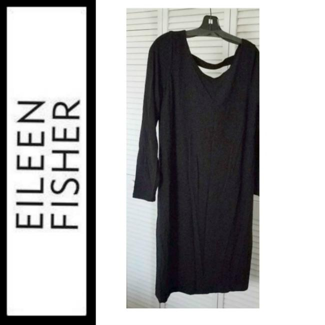black Maxi Dress by Eileen Fisher